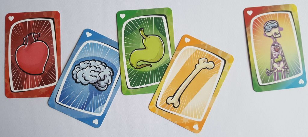 cartas del juego de mesa virus
