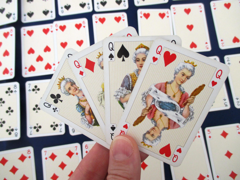 juegos con baraja Inglesas