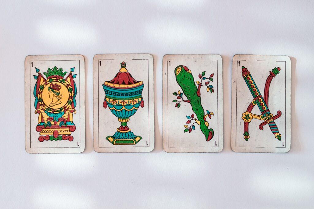 Juego de cartas burro